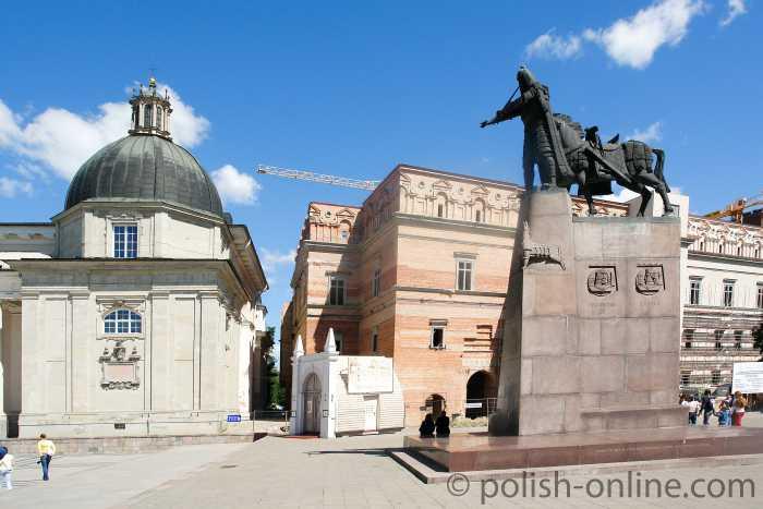 Gediminas-Denkmal in Wilna (Vilnius)