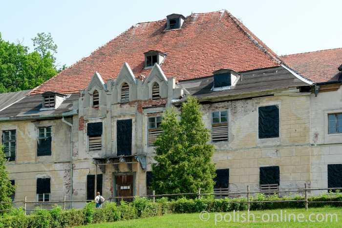 Schloss der Junkerfamilie Lehndorff in Steinort