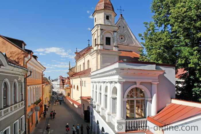 Theresienkirche in Wilna (Vilnius)