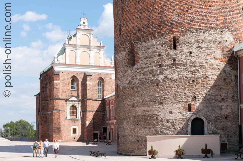 Dreifaltigkeitskirche in der Burg in Lublin