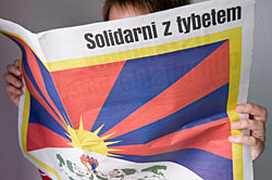 Solidarität mit Tibet