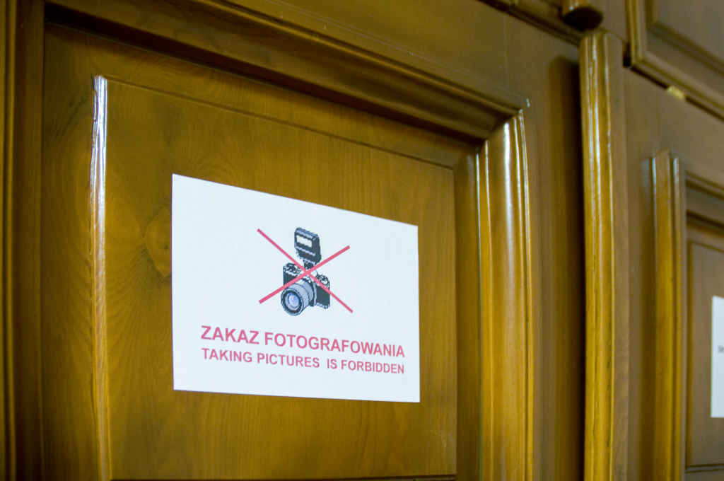 Schild Fotografieren verboten