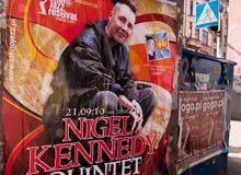 Konzertplakat Nigel Kennedy in Breslau