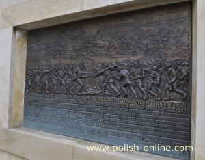Relief Schlacht von Gorlice 1915