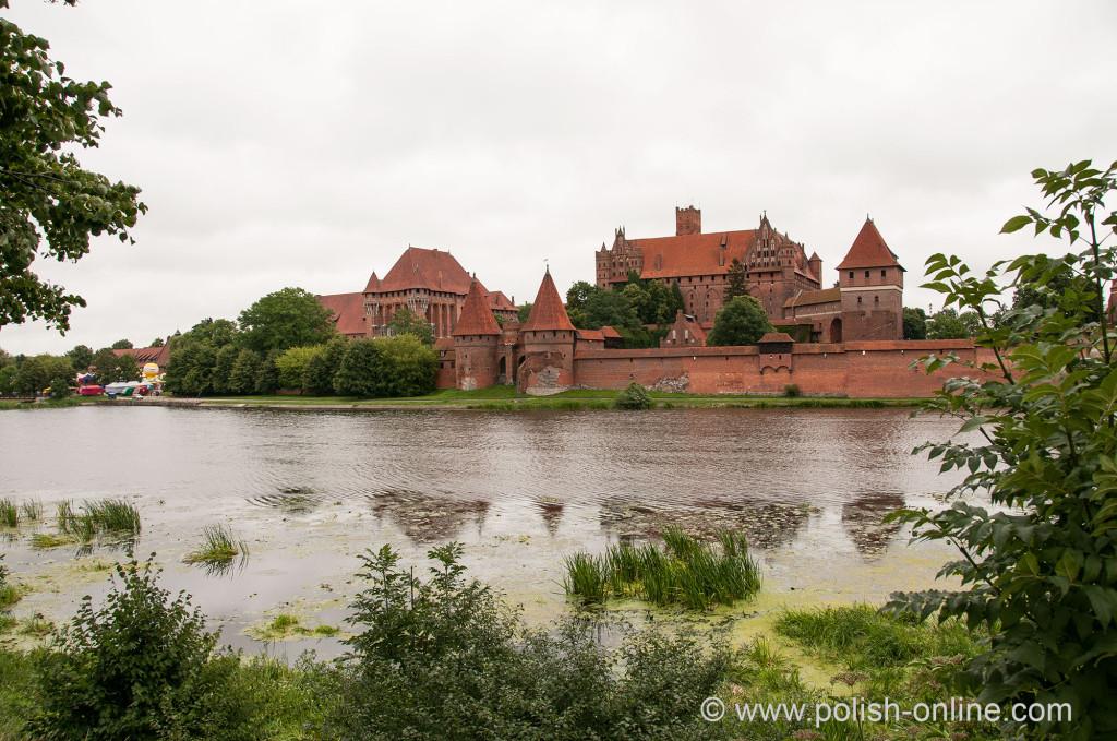 Die Marienburg in Polen