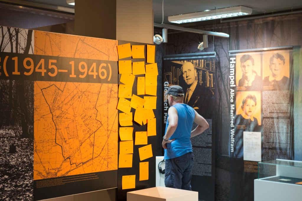 Ausstellung über das Arbeitslager Łamborwice 1945 - 1946