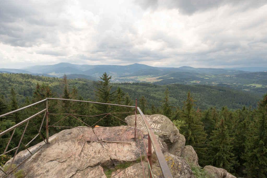 Aussichtpunkt am Felsentor bei Bad Landeck