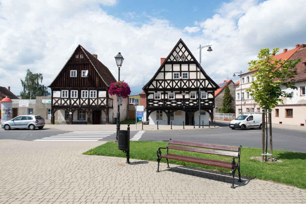 Lausitzer Häuser in Schönberg