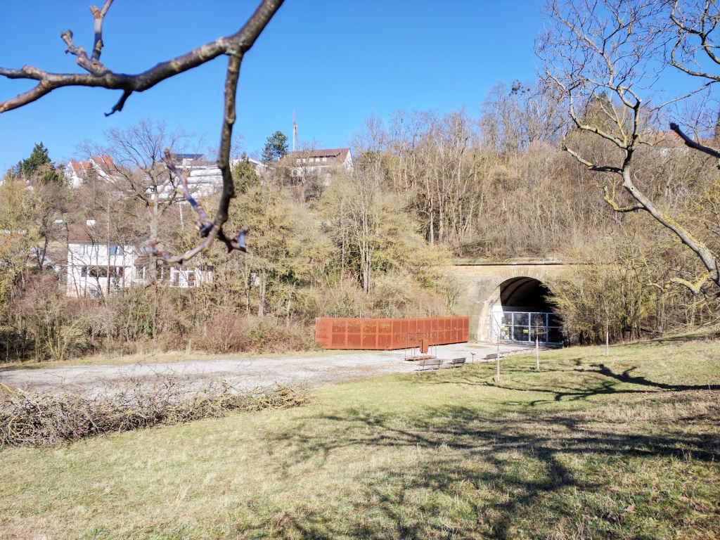 Alter Engelberttunnel in Leonberg bei Stuttgart