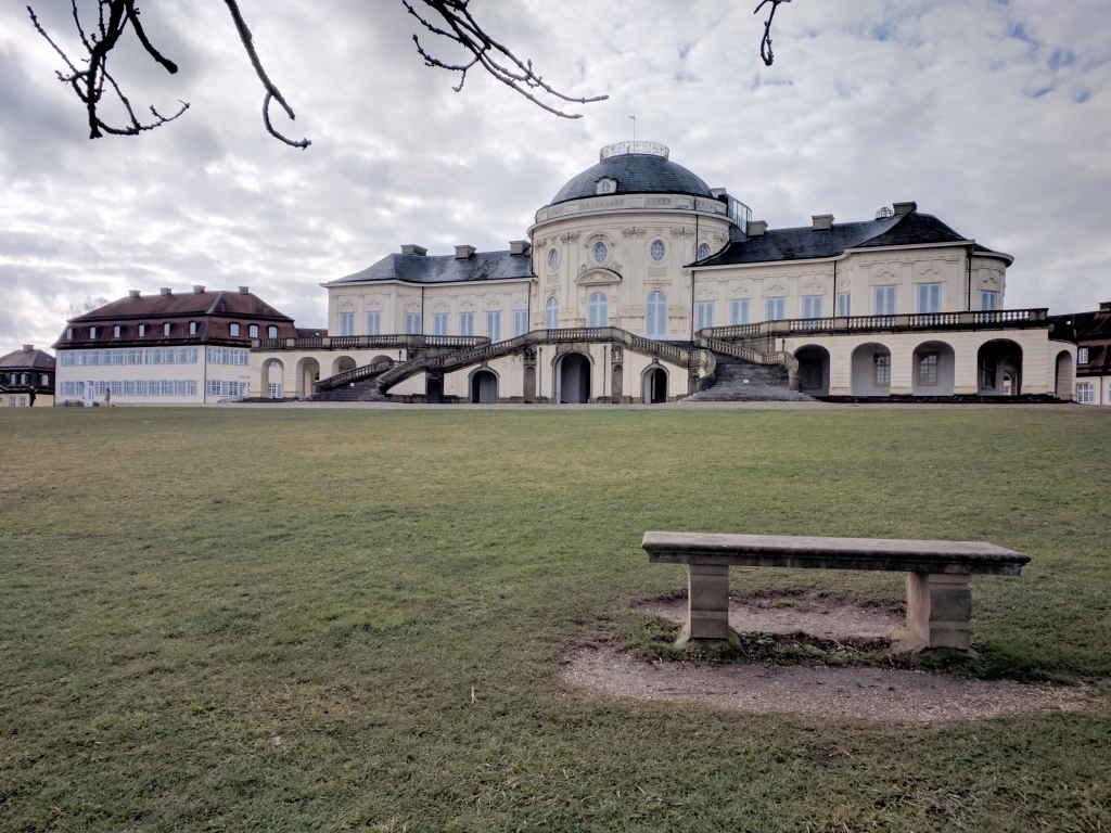 Nordseite des Schlosses Solitude