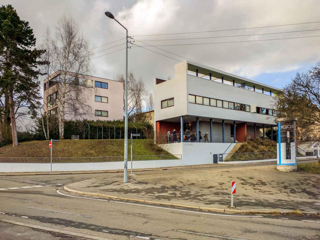 Doppelhaus von Le Corbusier in der Stuttgarter Weißenhofsiedlung