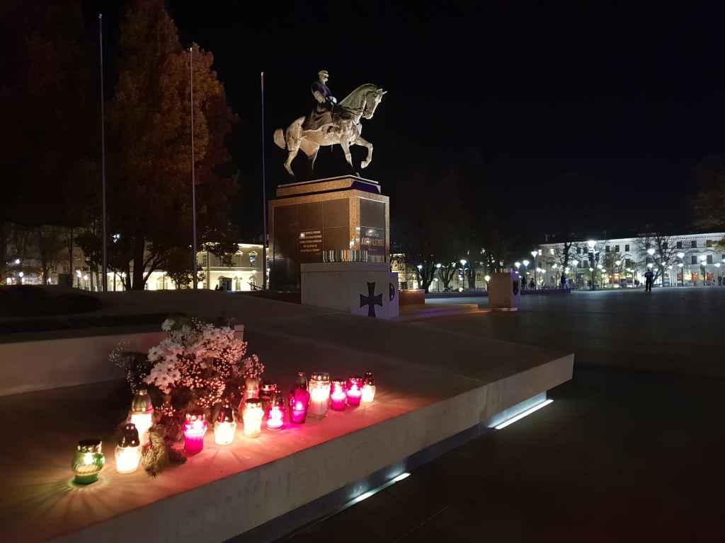 Józef-Piłsudski-Denkmal