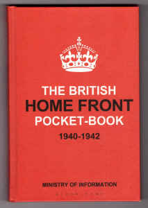 Cover des Buches The british home front pocket-book 1940-1942