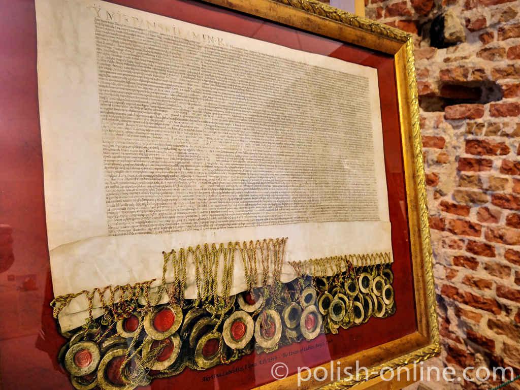 Urkunde der Lubliner Union