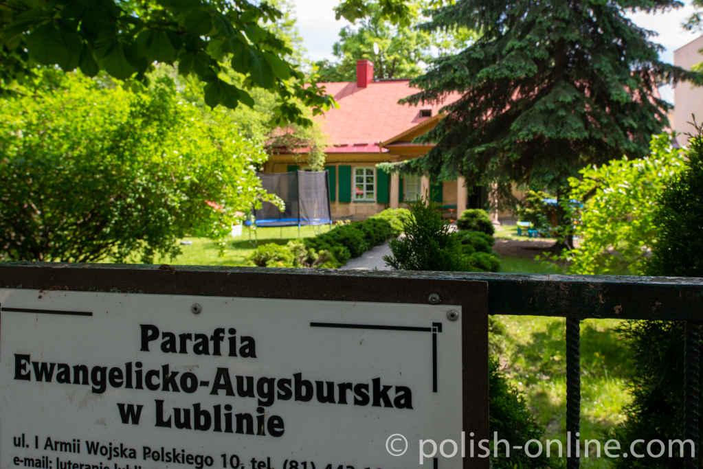 Evangelisches Pfarrhaus in Lublin