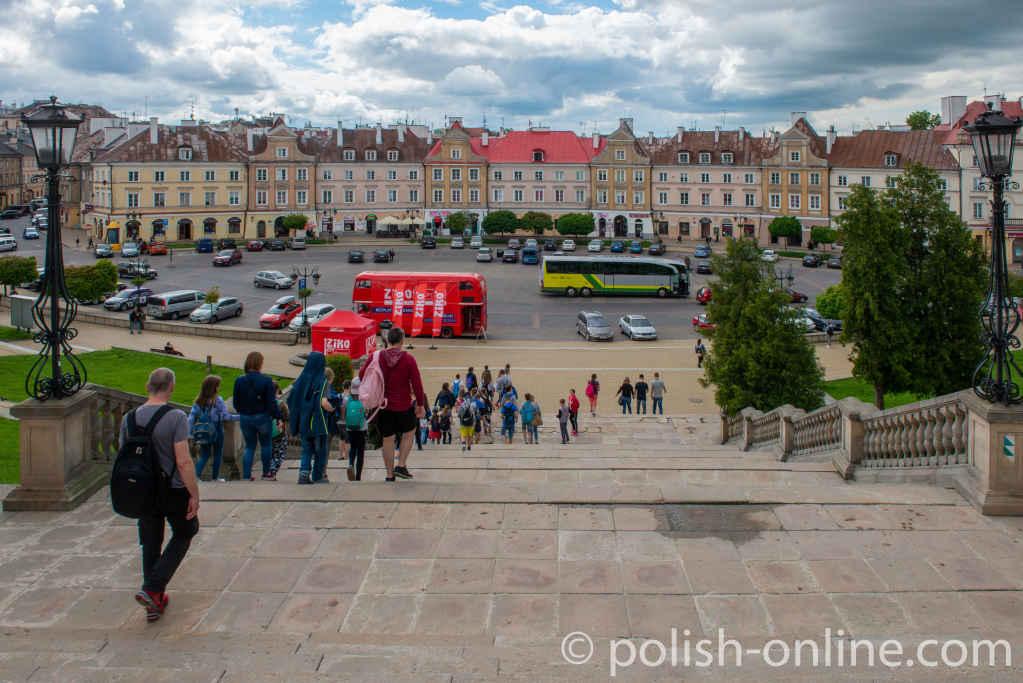 Schlossplatz in Lublin