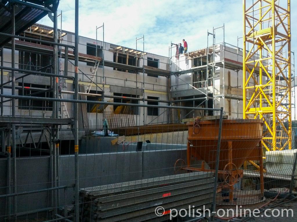 Baustelle in Kiel