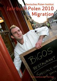 """Cover des Jahrbuchs 2010 """"Migration"""" des Deutschen Polen-Instituts"""