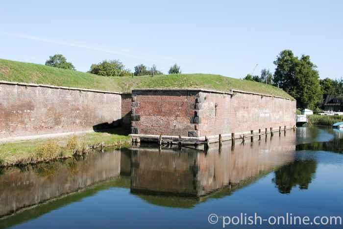 Wassergraben Festung Weichselmündung Danzig