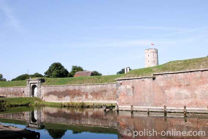 Eingangstor Festung Weichselmündung Danzig