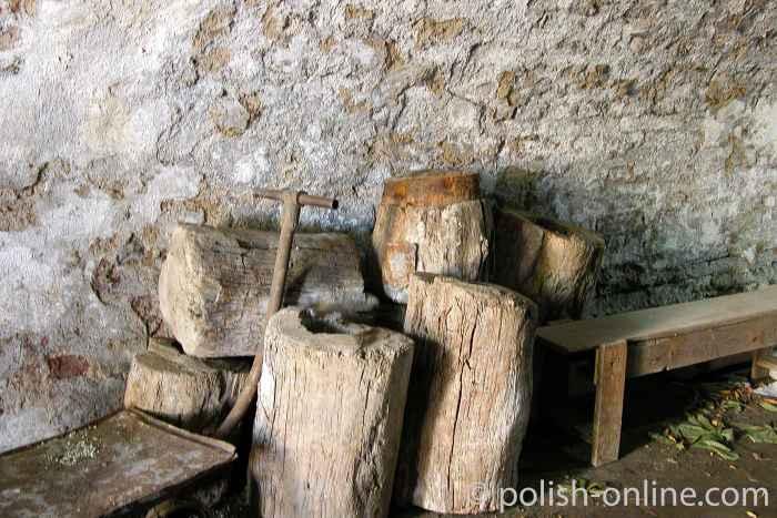 Wasserleitungen aus Holz Danzig