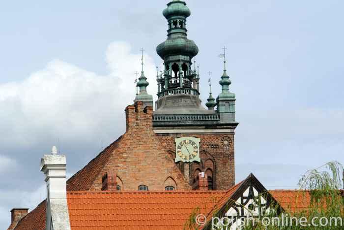 Turm der Katharinenkirche in Danzig