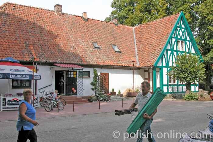 Gasthaus Gottschalk in Cadinen (Kadyny)