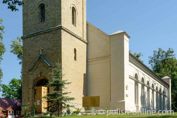 Evangelische Kirche in Nikolaiken (Mikołajki)