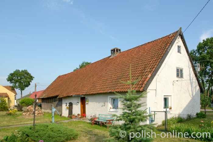 Bauernhaus im Ermland Polen