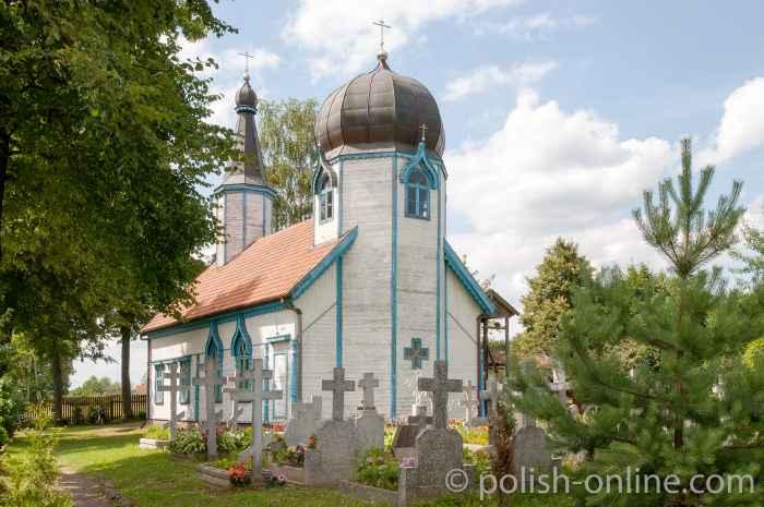 Orthodoxe Kirche in Wojnowo Masuren