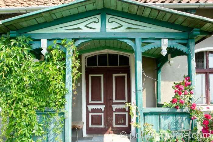 Haus einer altrussischen Familie in Wojnowo