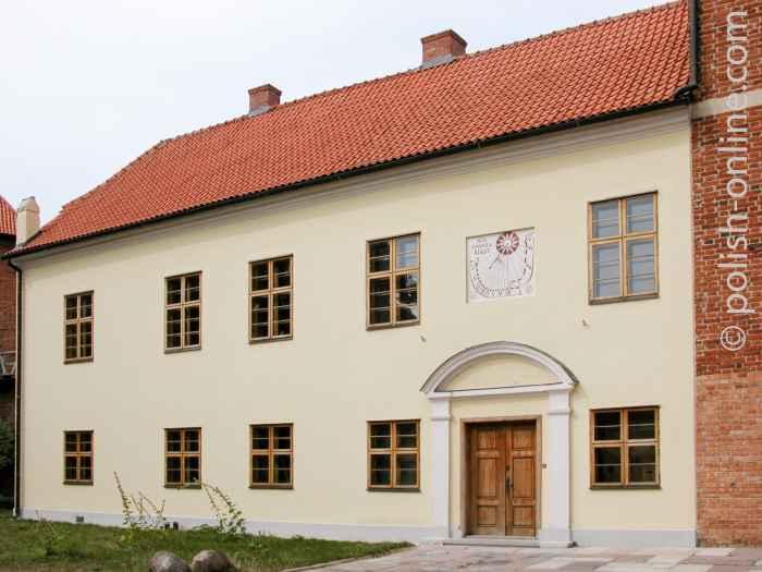 Marienkurie neben dem Dom in Frauenburg