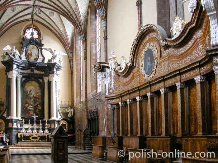 Barockgestühl im Dom von Frauenburg