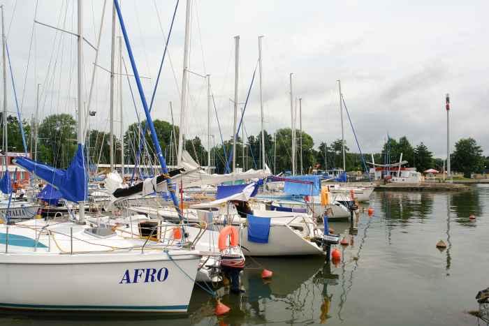 Seglerhafen in Lötzen