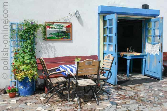 Griechisches Flair in Gdingen an der Ostsee