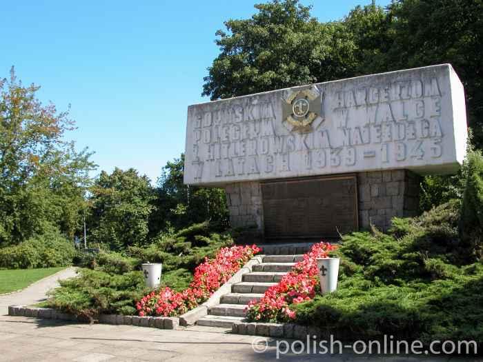 Denkmal für gefallene Pfadfinder Gdingen (Gdynia)