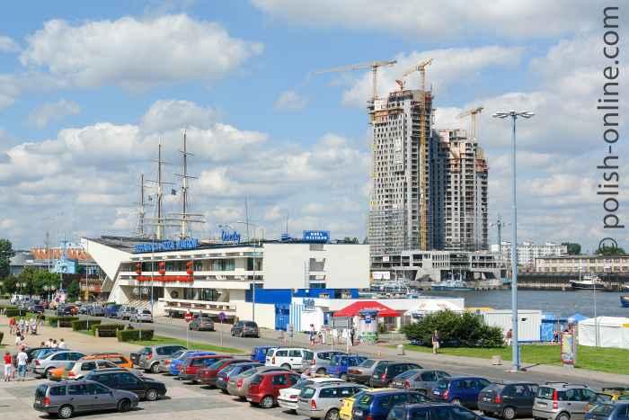 "Baustelle ""Sea Tower"" Gdingen (Gdynia)"