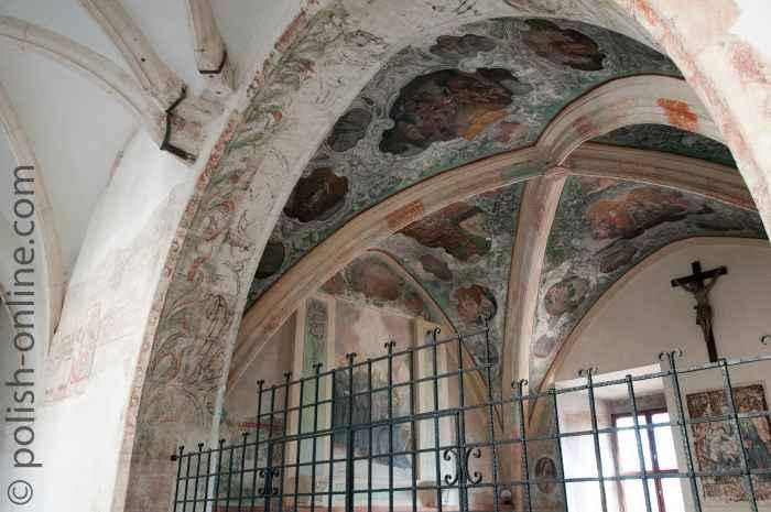 Gotischer Kapitelsaal Tyniec