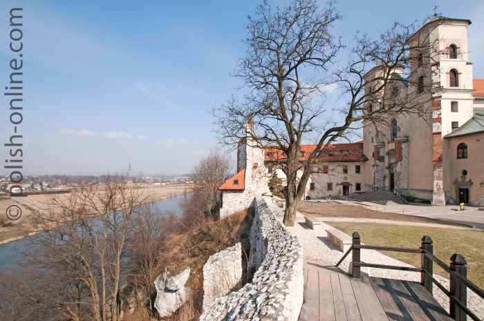 Kloster hoch über der Weichsel