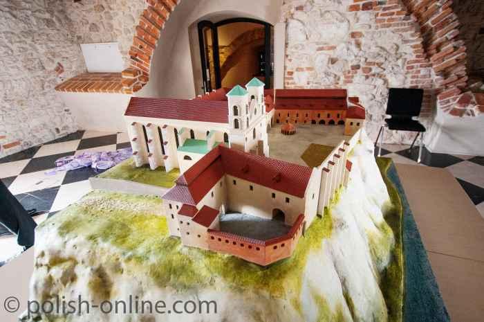 Modell des Kloster im Museum