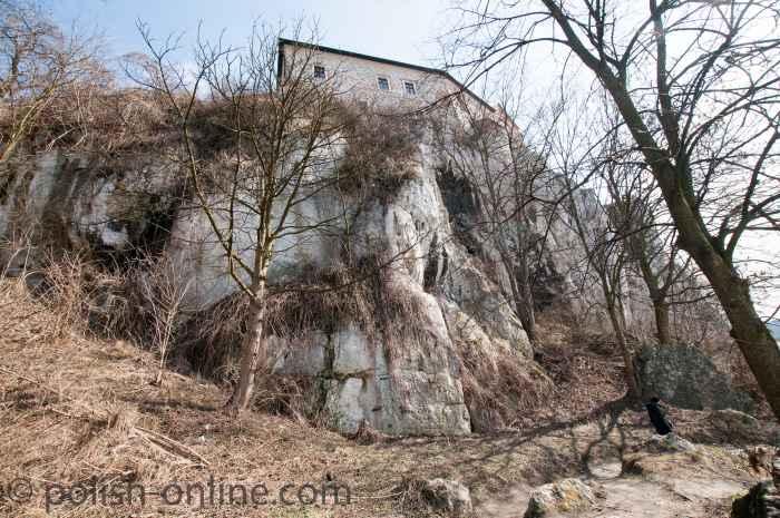 Westseite des Benediktinerklosters Tyniec
