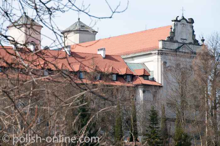 Ostseite des Benediktinerklosters in Tyniec