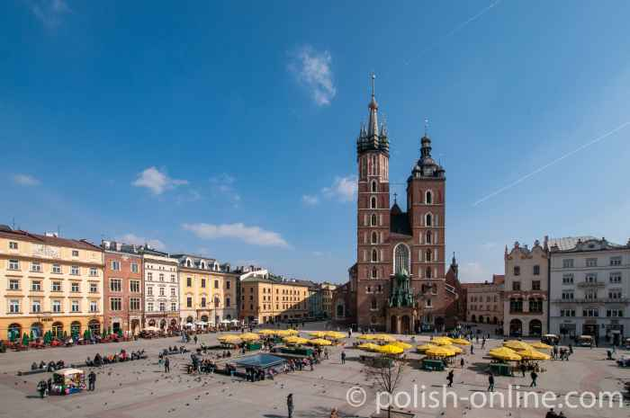 Die Marienkirche in Krakau (Kraków)