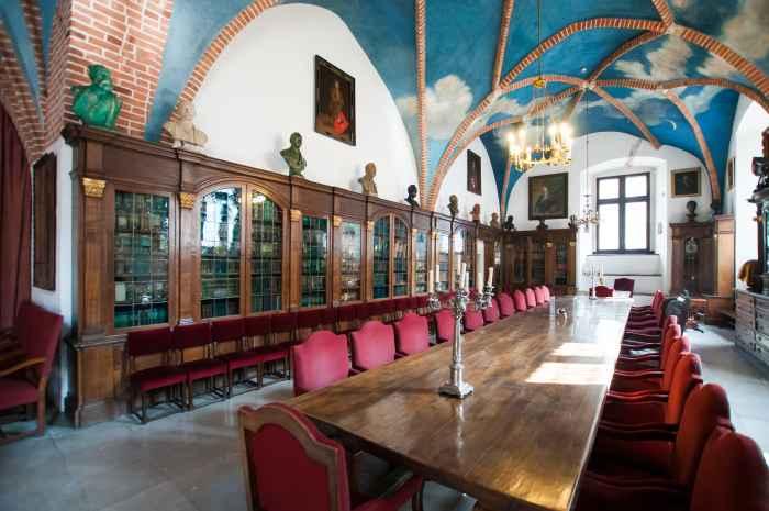 Die Libraria der Jagiellonen-Universität in Krakau (Kraków)