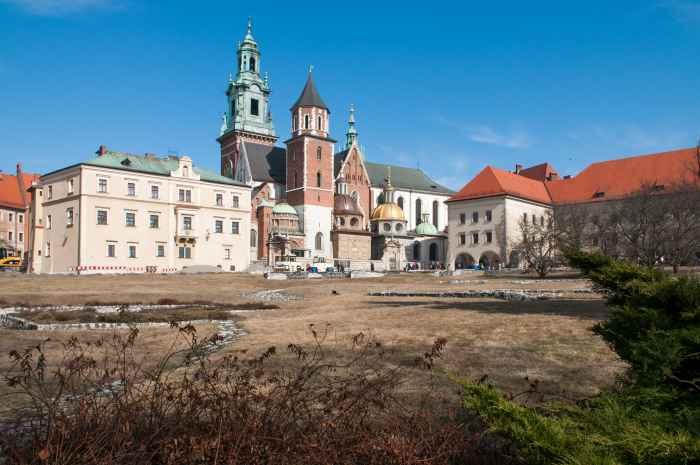 Exerzierplatz für österreichische Soldaten Wawel