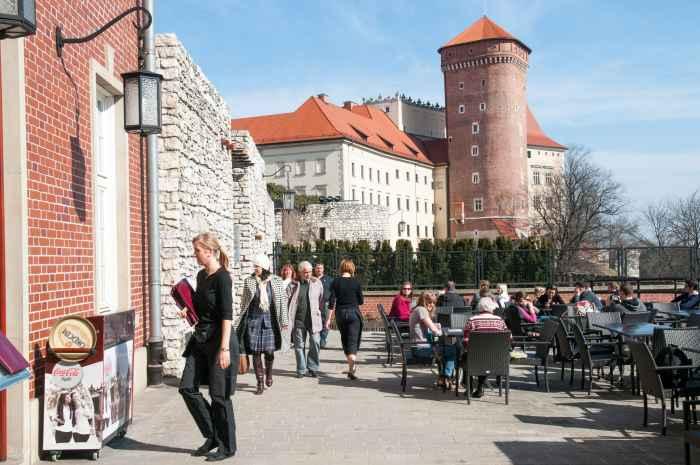 Senatorenbastei auf dem Wawel in Krakau (Kraków)