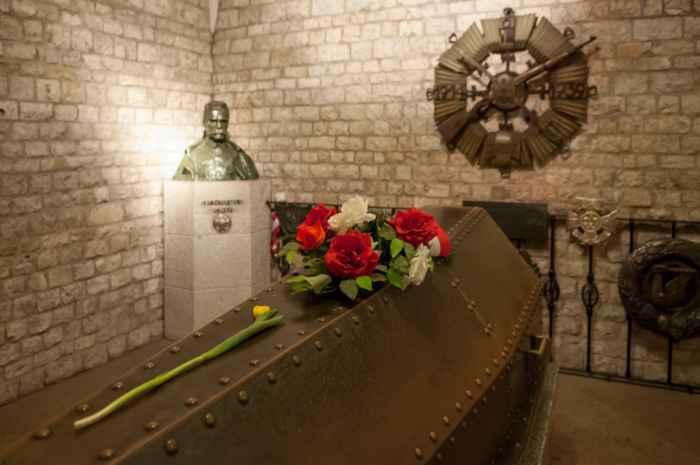 Grab von Józef Klemens Piłsudski, Krakau