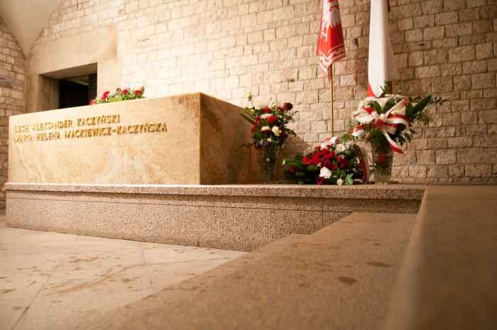 Grab von Lech und Maria Kaczyński, Krakau