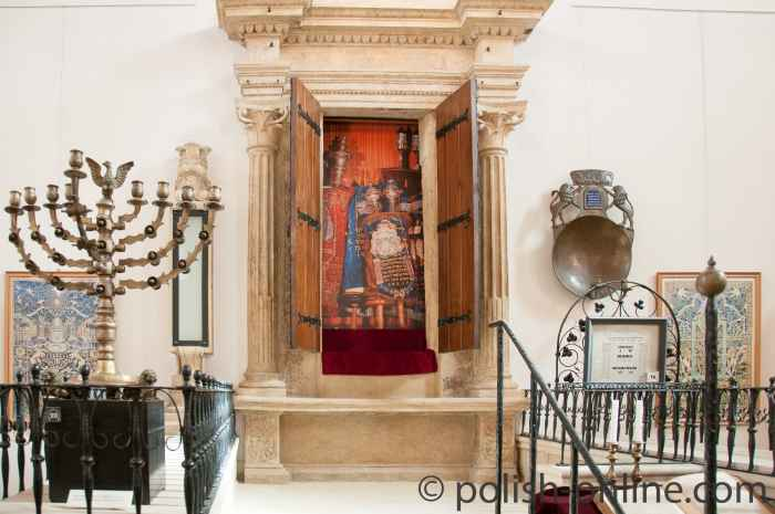 Toraschrein in der Alten Synagoge in Krakau