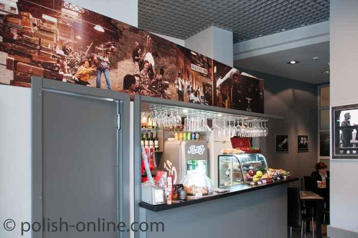 Im Museumscafé, Schindler-Museum Krakau